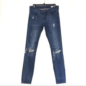BLANK NYC SKINNY CLASSIC DISTRESSED JEANS